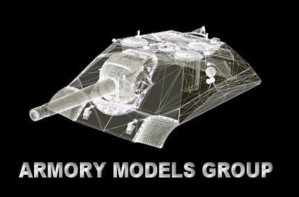 """Сайт- каталог виробника масштабних моделей """"Armory"""""""
