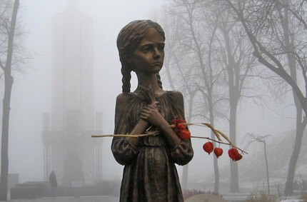 Сайт присвячений Голодомору